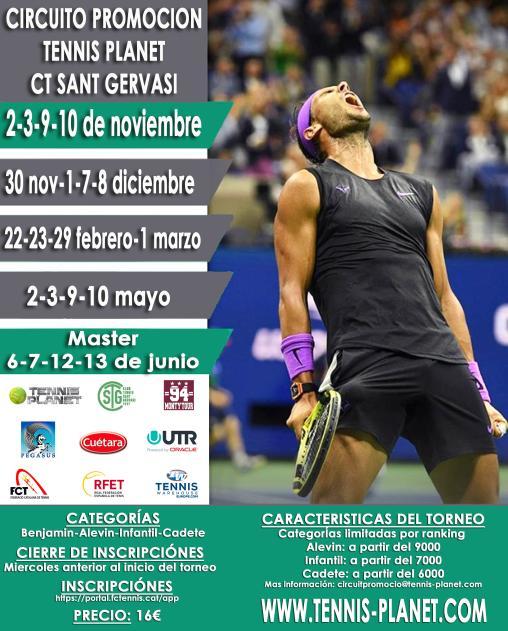 Circuit Promoció Tennis Planet