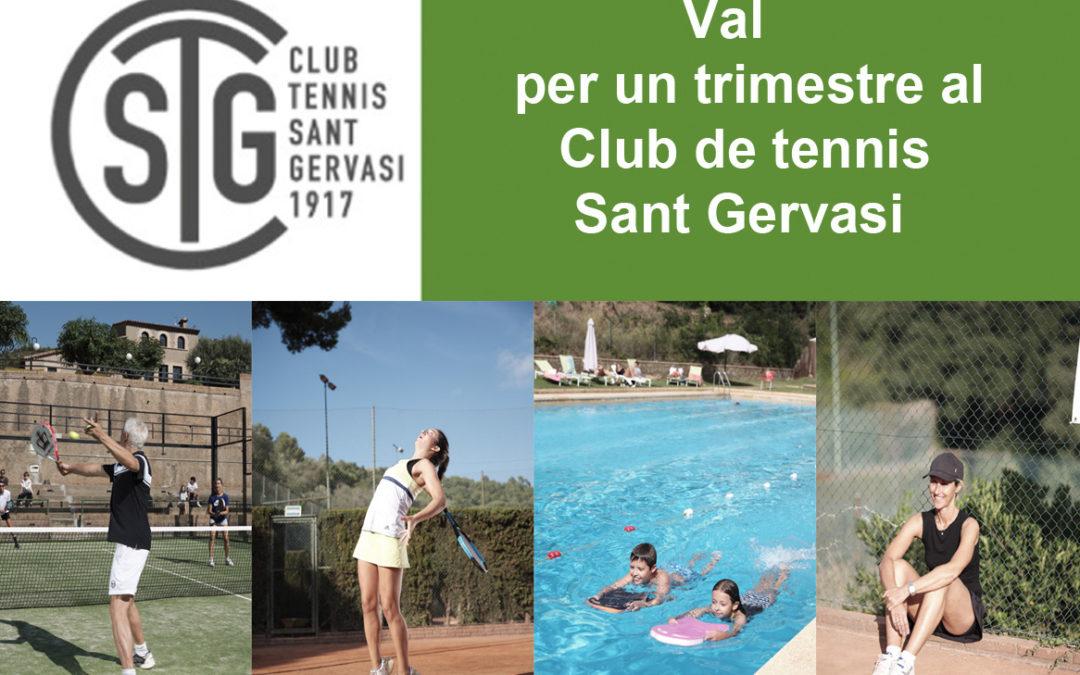 Guanyadors d'un trimestre al Tennis Sant Gervasi